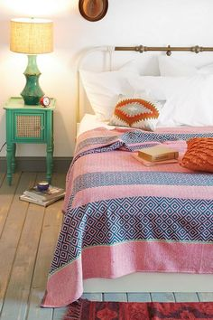 Magical Thinking Overprint Coverlet #urbanoutfitters
