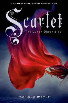 A romance set in the future-Scarlet: Book Two of The Lunar Chronicles by Marissa Meyer Scarlet Lunar Chronicles, Lunar Chronicles Books, Ya Books, Great Books, Books To Read, Teen Books, Amazing Books, New York Times, Scarlet Book