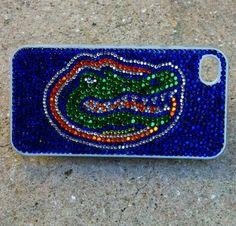 University of Florida Gators Rhinestone iPhone Case on Etsy, $45.00