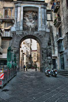 Porta San Gennaro, Naples, Italy