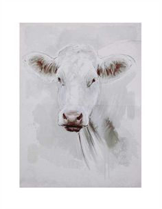 Canvas Wall Décor w/ Cow                                                                                                                                                                                 More