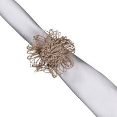I pinned this Rustique Napkin Ring (Set of 4) from the KAF Linens event at Joss and Main!