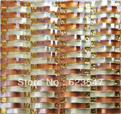 Glass tessere di mosaico a specchio di cristallo decorazione di interni di alta qualità all'ingrosso/produzione