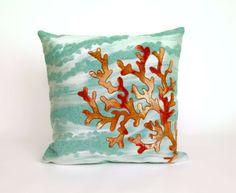 New - Indoor Outdoor Coastal Pillows