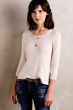 New Moon Pullover #anthropologie