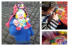 How to use Hama Beads
