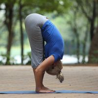 Hastapadasana Yoga Pose - Standing Forward Bend Yoga Pose
