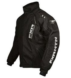 FXR Vapour Lite, Mens Snowmobile Jacket, Black, 2XL, XXL