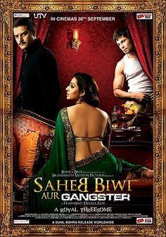Saheb Biwi Aur Gangster (2011) Full Movie Watch Online Free HD - http://www.moviezcinema.com/2017/02/saheb-biwi-aur-gangster-2011.html
