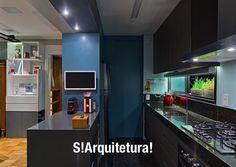 Cozinha colorida!