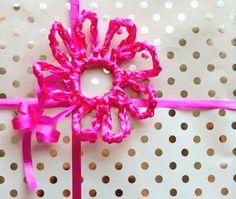 Crochet Spot » Blog Archive » Free Crochet Pattern: Curling Ribbon Flower - Crochet Patterns, Tutorials and News