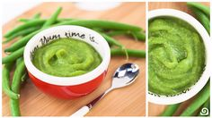 Green Beans Baby Food - Blendtec Recipes. Or, adults with braces. Because i can't chew at the moment.