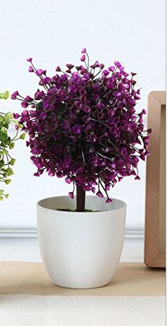 Dark Red Vintage Artificial Fake Plant Potted Yard Indoor Home Shop Decor Ficus Tree X ** You can get more details by clicking on the image. Artificial Plants And Trees, Artificial Tree, Fake Plants, Trees And Shrubs, Potted Plants, Indoor Plants, Ficus Tree, Dark Red, House Plants