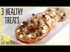 MEG | 3 Healthy TREATS that will Fool Your Kids - banana ice cream, apple cookies, and frozen yogurt covered blueberries