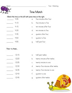 Have fun practicing telling time with this free worksheet! Match the digital time to its correct written out version. #tellingtime #tellingtimepractice #freeworksheets