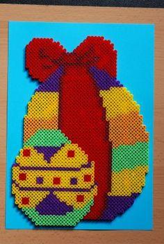 Easter Egg hama beads by perleshama30