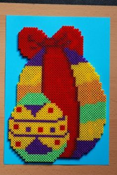 Easter Egg hama beads by perleshama30