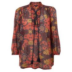 Indo Shirt Holiday Crush Multi, $75, now featured on Fab.