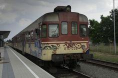 Dieseltriebwagen aus Slowenien in Bleiburg/Kärnten