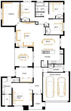 Hampton 30 Floor Plan