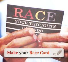 "The Race Card Project - ""Think about the word Race. How would you distill your thoughts, experiences or observations about race into one sentence that only has six words?"""