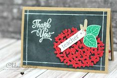 Chlo's Craft Closet - Stampin' Up! Independent Demonstrator: TGIF Theme Challenge #69 - Thoughtful Branches Teacher Thank You