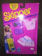 VINTAGE 1989 BARBIE SKIPPER OUTFIT~NEW IN BLISTER PACK~MATTEL