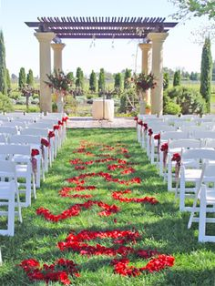 Wedding Flowers Ceremony @ Vintners Inn. Flowers and photo by The Wild Orchid floral design in Sebastopol.