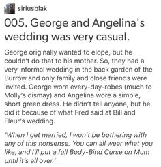 Angelina Johnson, Harry Potter, hp,George Weasley