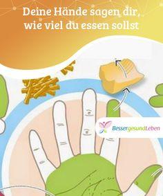 Deine #Hände sagen dir, wie viel du essen sollst  Es gibt eine ganz einfache #Methode, mit der du die Mengen der empfohlenen #Nahrungsmittel #schnell messen kannst. Du benötigst dafür nur deine Hände.