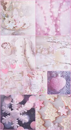 xmas, Christmas, pink, pretty, sparkly, glitter, white, iPhone, background