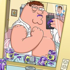 Peter Griffin is ready to take on Liam Neeson.