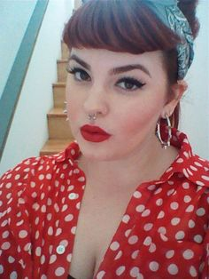 5837bbd236a39 She is a plus size model and she is absolutely FABULOUS! Rockabilly
