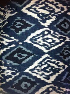 #textiles, #indigo, #ikat