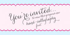elegant font styles examples | Wedding Fonts - Generate Designs with Wedding Fonts