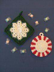 Ravelry: Linda's Snowflake Potholder pattern by Linda Bohrn