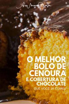 Fall Dessert Recipes, Sweet Desserts, Desert Recipes, Fall Recipes, Sweet Recipes, Brazillian Food, My Favorite Food, Favorite Recipes, Best Carrot Cake