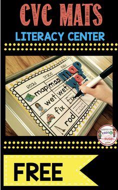 CVC Words — Keeping My Kiddo Busy