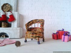 Upcycling set for Miniature Dollhouse Furniture, Dollhouse Kits, Victorian Dollhouse, Dollhouse Miniatures, Furniture Styles, Home Furniture, Doll Home, Fisher Price Toys, Dollhouse Accessories