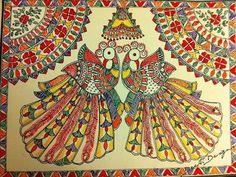 Design, Inspiration, Madhubani Art, Painting, Projects To Try, Art, Madhubani Painting, Folk