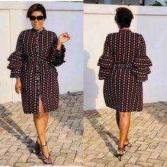 Short African Dresses, Latest African Fashion Dresses, African Print Dresses, Best African Dress Designs, Trendy Ankara Styles, Ankara Gown Styles, Dress Styles, South African Traditional Dresses, Mode Kimono