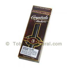 Garcia Y Vega Crystals Maduro Cigars 5 Packs of 3