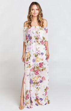 Hacienda Maxi Dress ~ Best Friend Floral