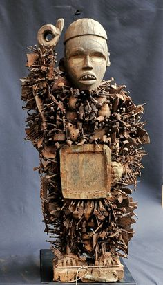 Bakongo Fetiche à clous 107cm Congo nail fetish Arts africain tribal premier   eBay                                                                                                                                                                                 Plus