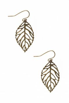 Type 3 Leafing on a Jet Plane Earrings