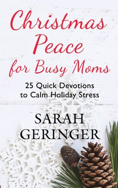 Instead of bringing joy and peace, often Christmas brings stress to moms like no other season. These 25 quick devotions will bring peace to your Christmas season.With spiritual guidance and practical help, you will walk through this season with the Prince of Peace. Sign up today at sarahgeringer.com for free printables and study materials to go with the book. #Christmas #momlife #stress #devotional #Christmaspeace Best Christmas Presents, Christmas Fun, Christmas Place, Celebrating Christmas, Christmas Thoughts, Christmas Books, Advent, Divorce And Kids, Christian Friends
