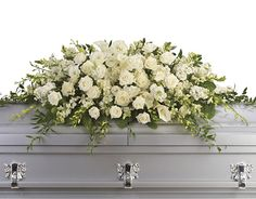 Heaven's Own arranges funeral flowers. We have wide range of beautiful sympathy flowers & sympathy gift baskets to express your condolence. Arrangements Funéraires, Funeral Flower Arrangements, Funeral Flowers, Gerbera, Casket Flowers, City Flowers, Funeral Sprays, Casket Sprays, Funeral Tributes