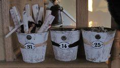 Okio B Designs: Numbered Peat Pots