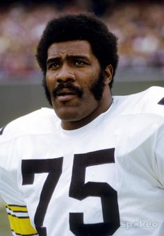 Joe Greene, Pittsburgh Steelers  Thanks Mean Joe! :)