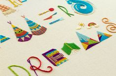 Makers, Dreamers - handmade embrodery
